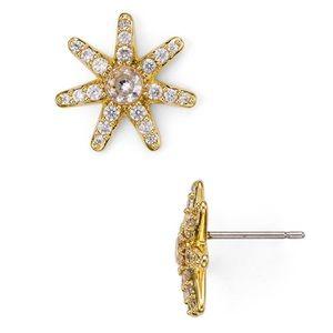 NWT Kate Spade Gold Mini Star Stud Earrings